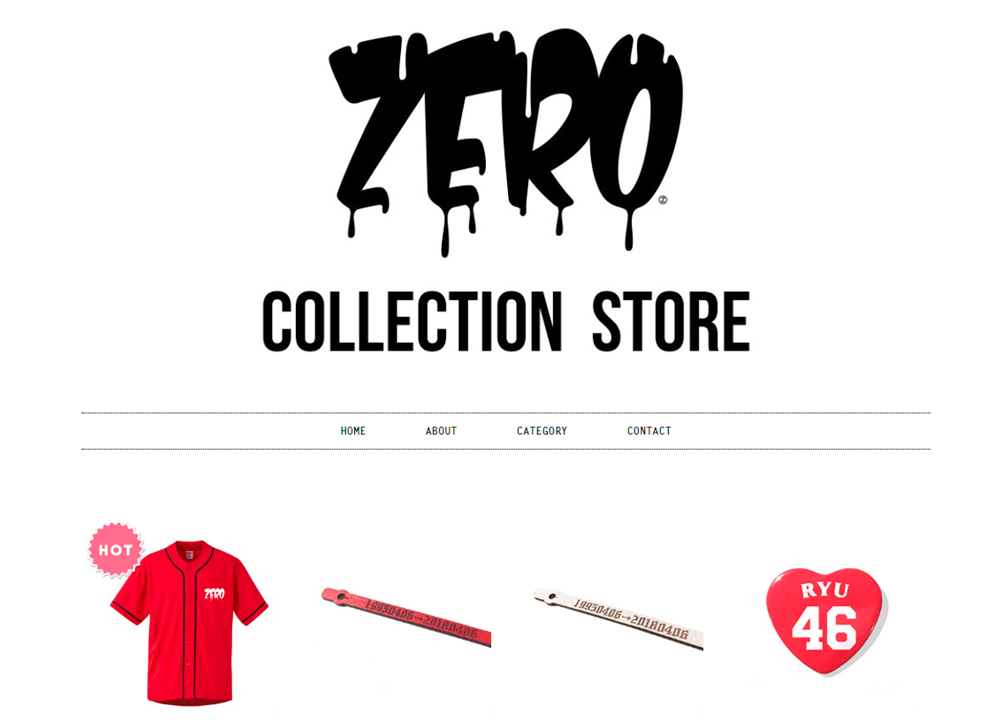 ZERO collection store